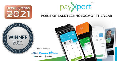 PayXpert wins 'POS Technology of the Year' at the Retail Systems Awards 2021