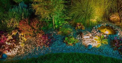 Learn more about interesting landscape lighting trends.