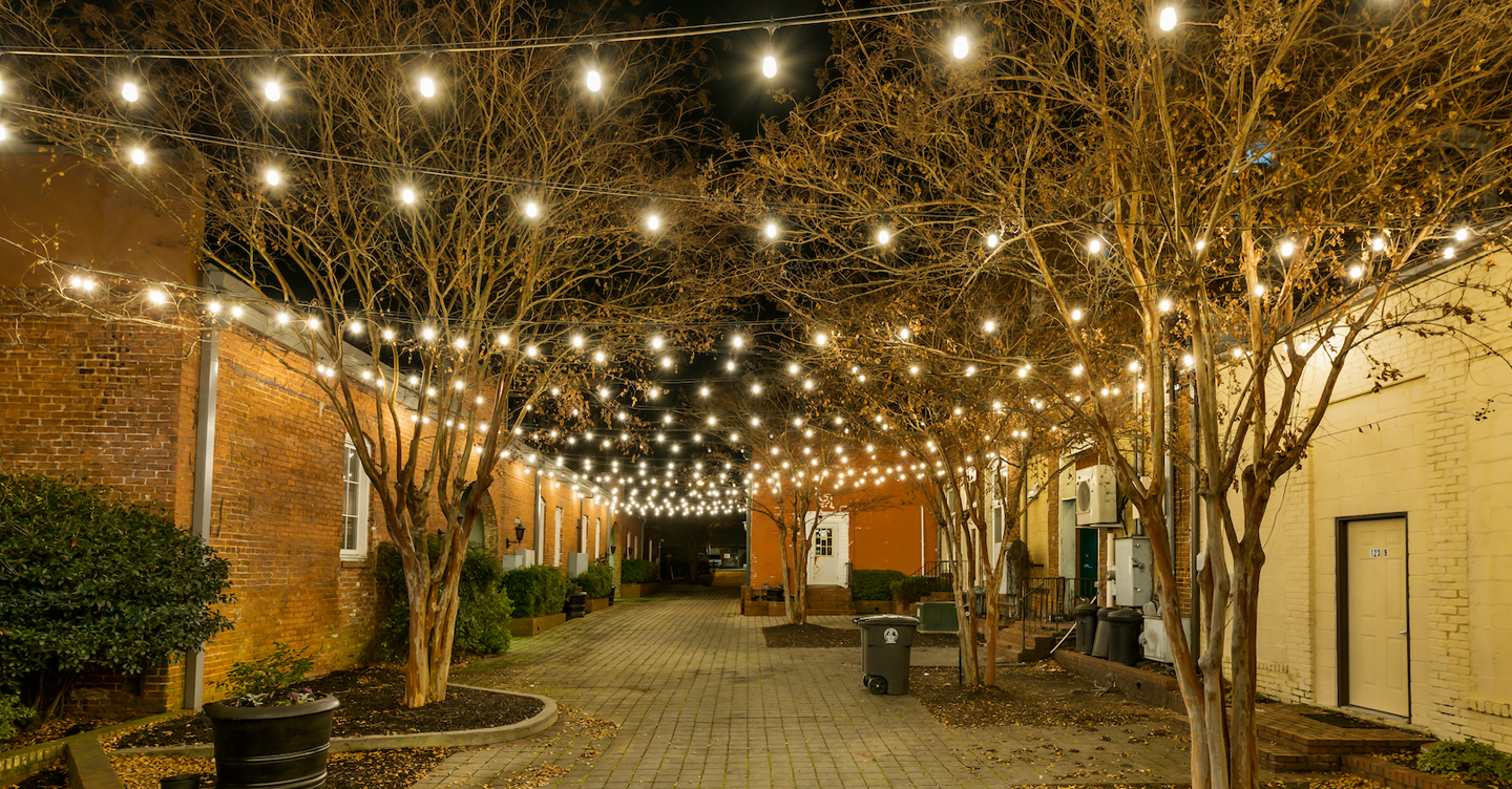 Learn more about Lights Over Atlanta and their permanent string lighting kits.