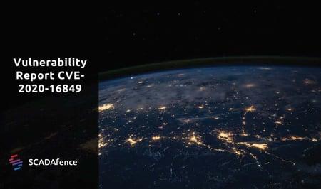 Vulnerability Report CVE-2020-16849