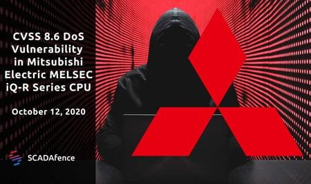 CVSS 8.6 DoS Vulnerability in Mitsubishi Electric MELSEC iQ-R Series CPU