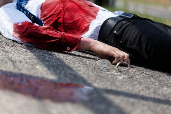 Hoe herken ik een catastrofale bloeding?