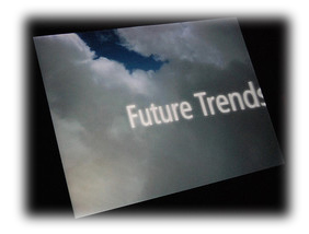 screenshot that reads future trends