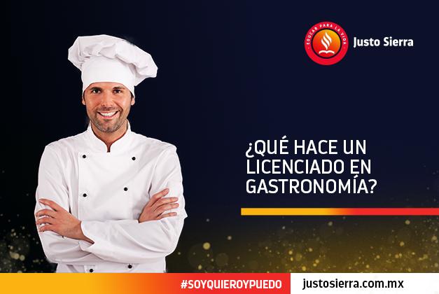 ¿Qué hace un Licenciado en Gastronomía?
