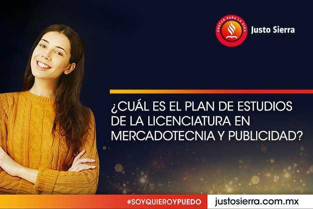 ¿Cuál es el plan de estudios de la Licenciatura en Mercadotecnia y Publicidad?