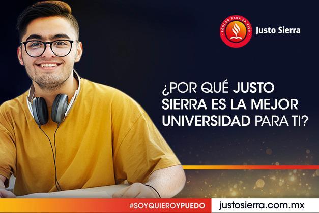 ¿Por qué Justo Sierra es la mejor universidad para ti?