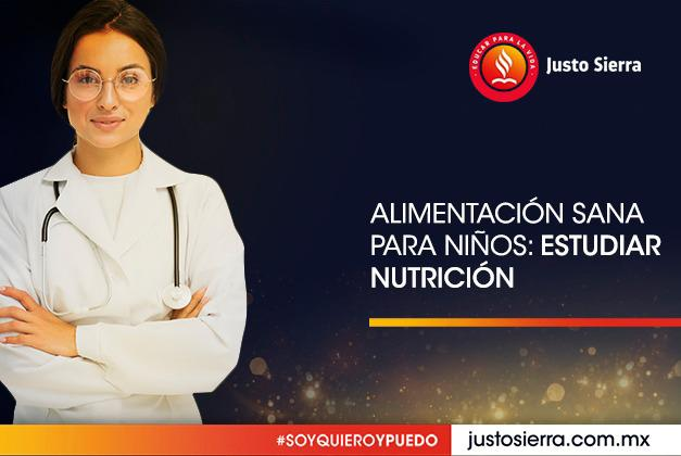 Alimentación sana para niños: estudiar Nutrición