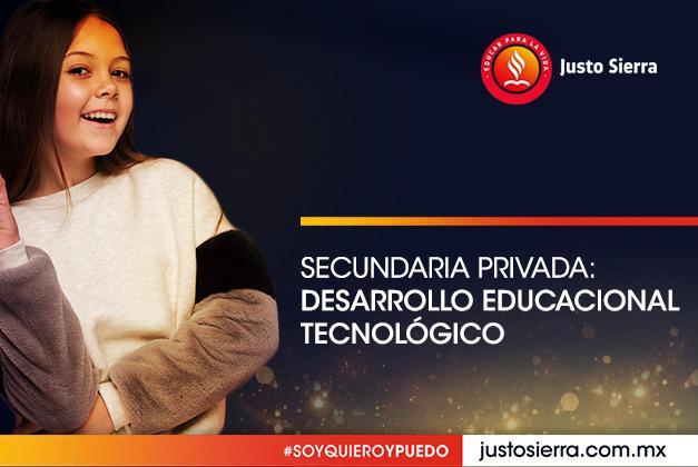 Secundaria Privada: Desarrollo Educacional Tecnológico