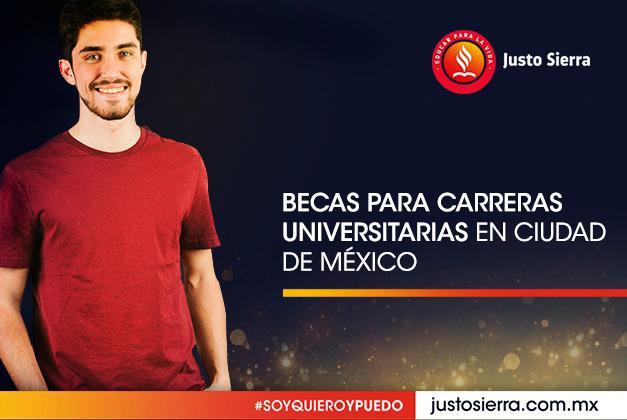 Becas para carreras universitarias en Ciudad de México