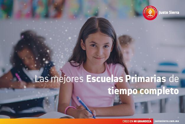 Las mejores escuelas primarias de tiempo completo