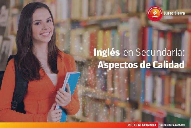 Inglés en Secundaria: Aspectos de Calidad