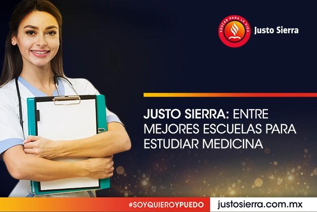Justo Sierra: Entre mejores escuelas para estudiar medicina