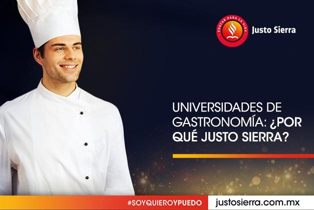 Universidades de Gastronomía: ¿Por qué Justo Sierra?