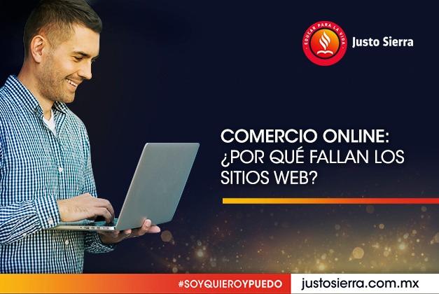 Comercio online: ¿Por qué fallan los sitios web?