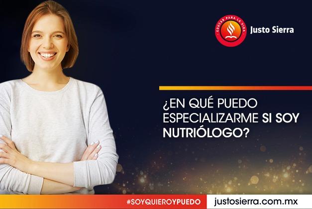 ¿En qué puedo especializarme si soy Nutriólogo?