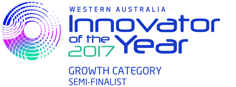 WA Innovator of the Year 2017 - Semi Finalist (Growth Category)