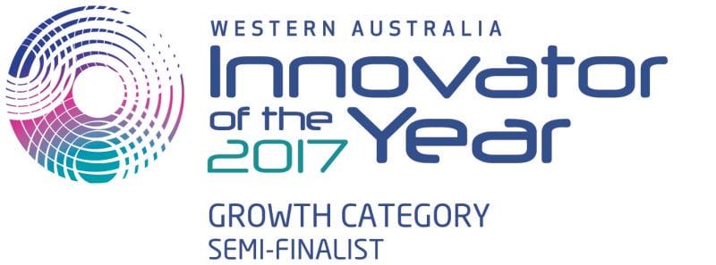WA Innovator of the Year 2017 - Semi Finalist (Growth Category)
