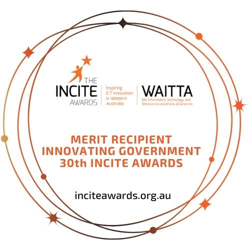 INCITE Awards 2021: SpacetoCo wins the Merit Award for Innovating Government!