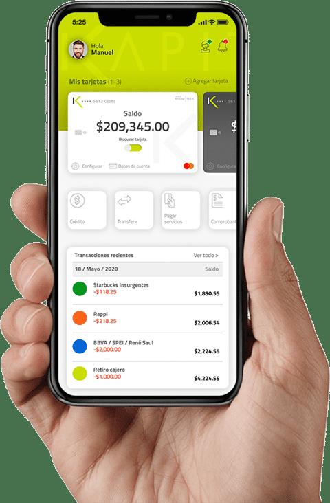 Kapital Smartbank app