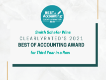 Best of Accounting Award 2021