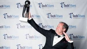 Calvin Carter Wins Tech Titans Emerging CEO Award