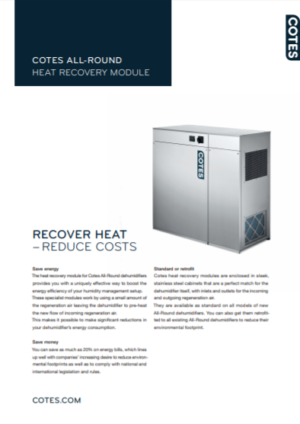 Cotes All-Round Heat Recovery Module