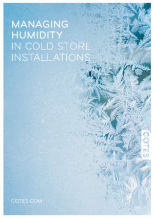 MANAGING HUMIDITY IN COLDSTORES