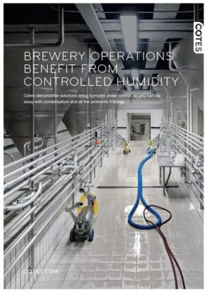 BREWERY OPERATIONS BENEFIT FROM CONTROLLED HUMIDITY