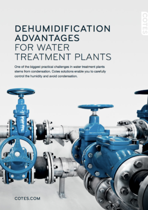 DEHUMIDIFICATION IN WATER TREATMENT PLANTS