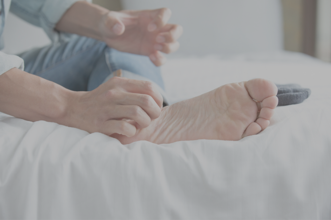 athletes foot that wont go away can be disturbing to daily life