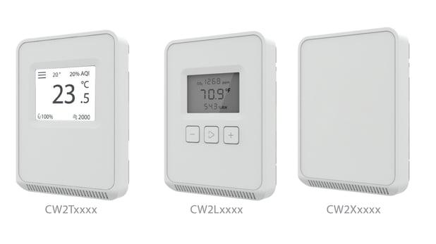 Touchscreen vs. LCD vs. Non-Display in an IAQ Sensor Platform