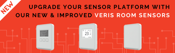 Introducing a New and Improved Set of Room Sensors from Veris!