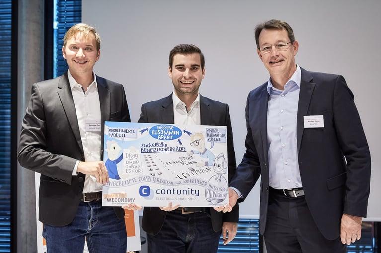 Celus won the Weconomy Award 2018!