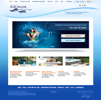 Atkinson Pools Home page