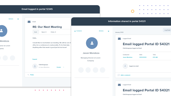 Map Email Activity Across Multiple Portals