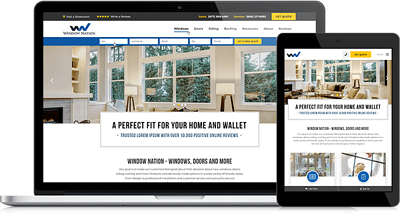 Custom Features Make Window Nation's New Website A Lead Generating Machine