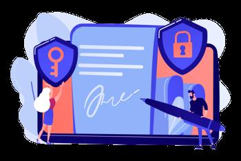 Secure Digital Signture