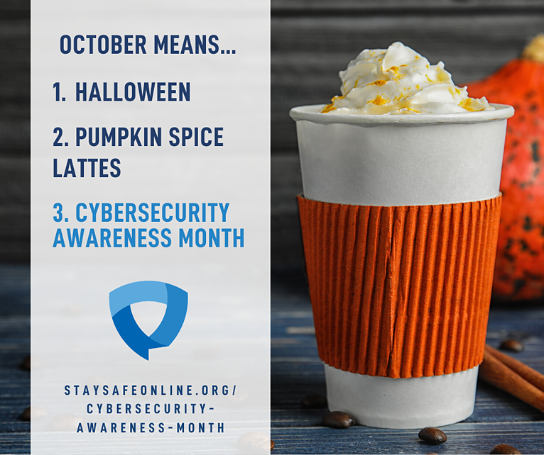 Time for Cybersecurity Awareness Month