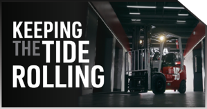Keeping the TIDE Rolling: A Lilly Company Forklift Solution for the University of Alabama Crimson Tide