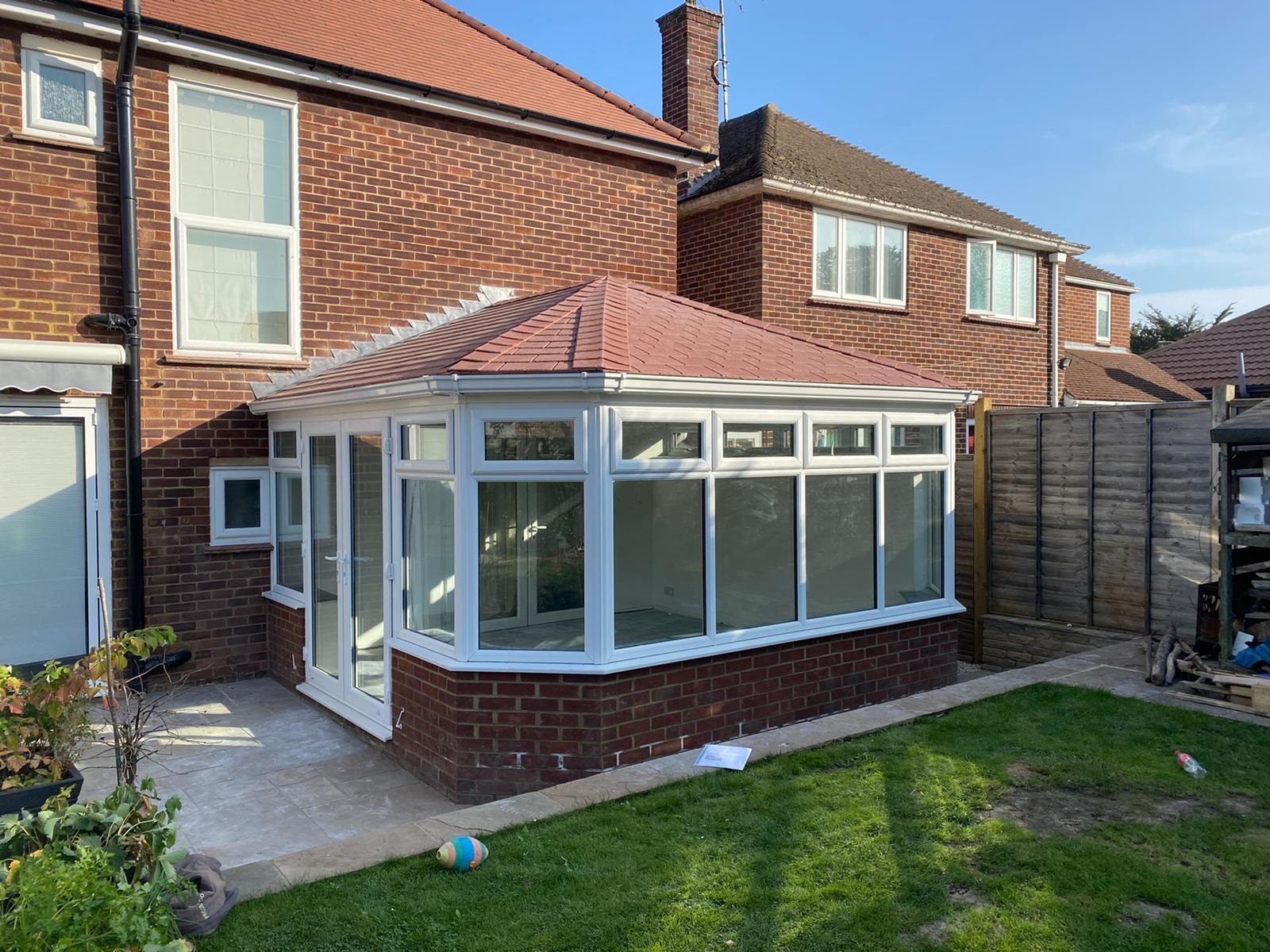 successful conservatory roof conversion job by projects 4 roofing