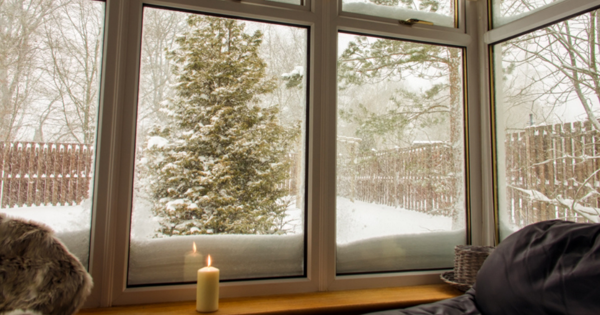 Conservatory insulation prevents the cold weather from going in