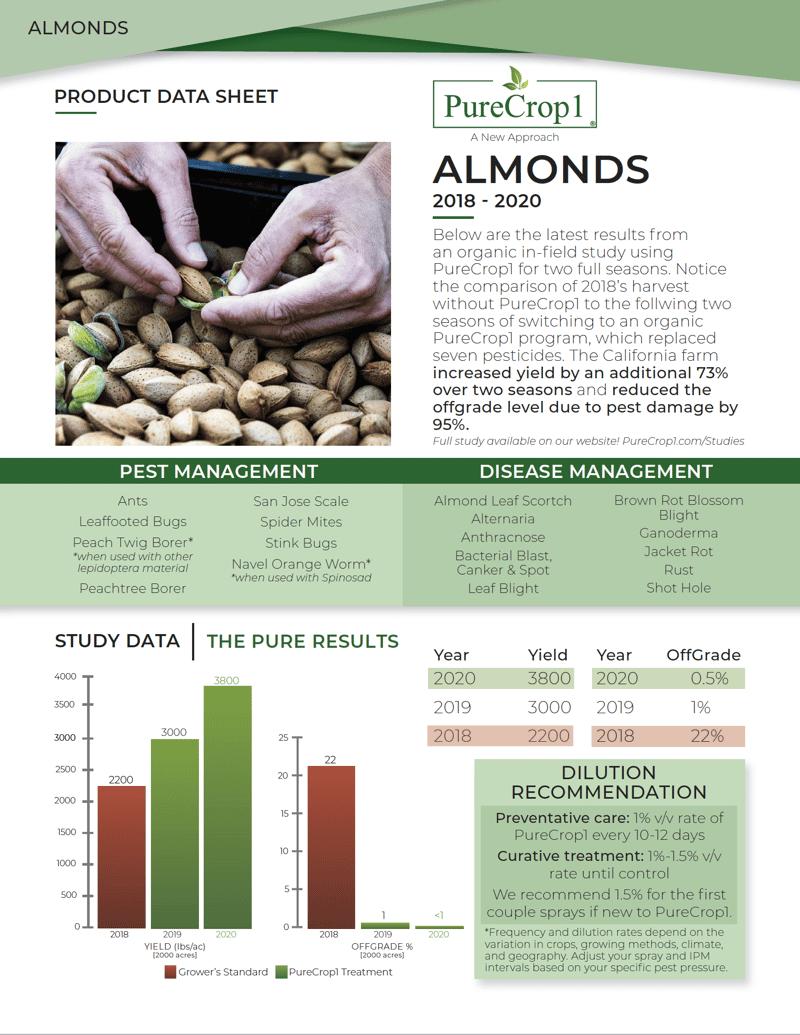 Almonds One Sheet screenshot