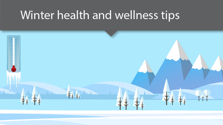 Winter Health and Wellness Tips [Infographic]