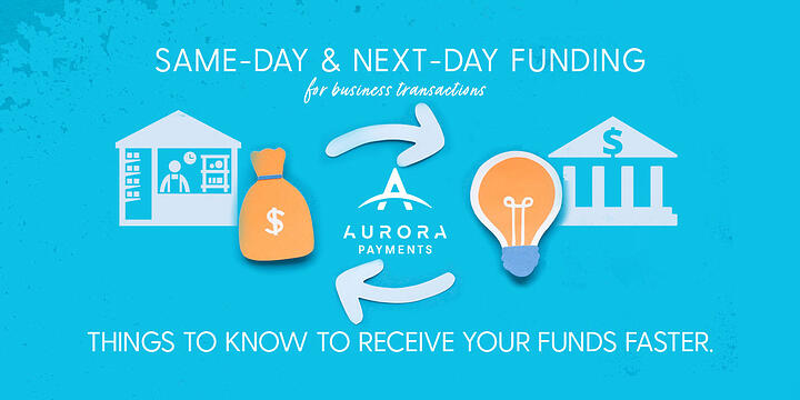 Next-day & Same-day funding for business transactions