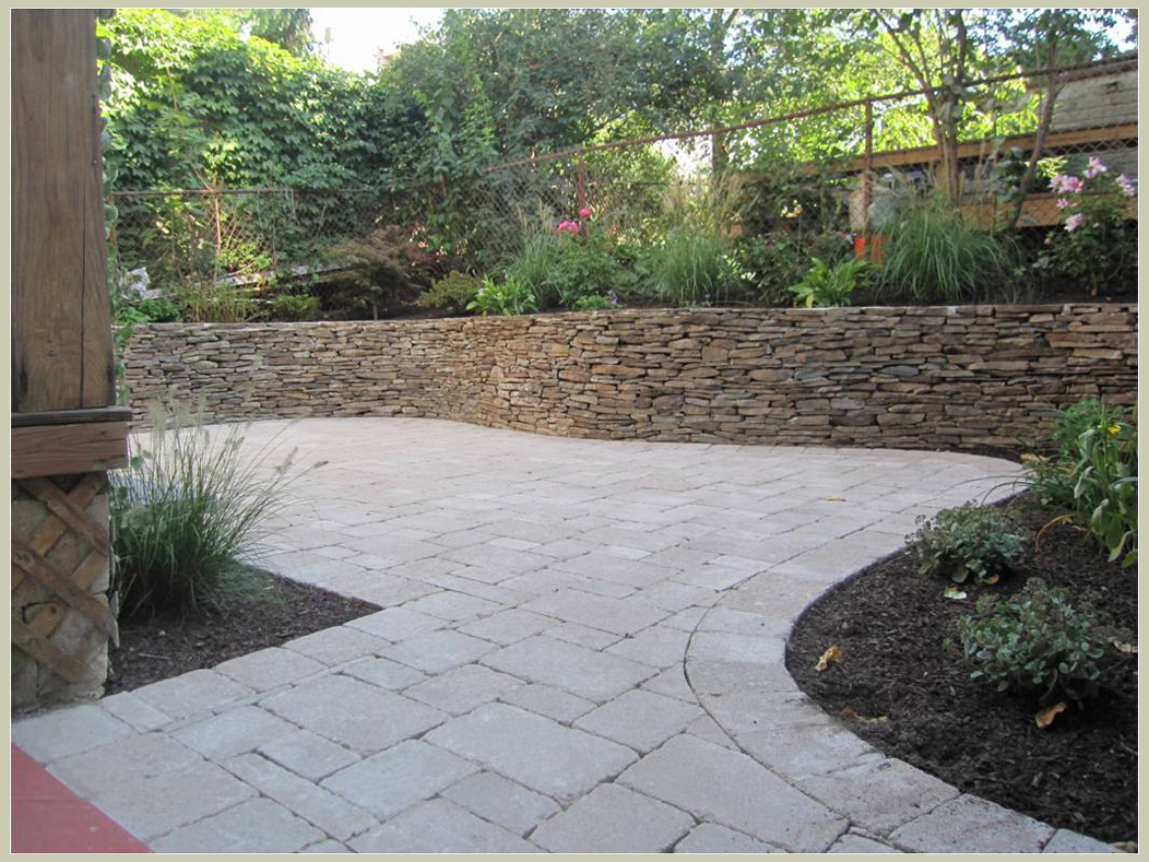 Best landscape ideas design your landscape gravel mulch Backyard designs with gravel