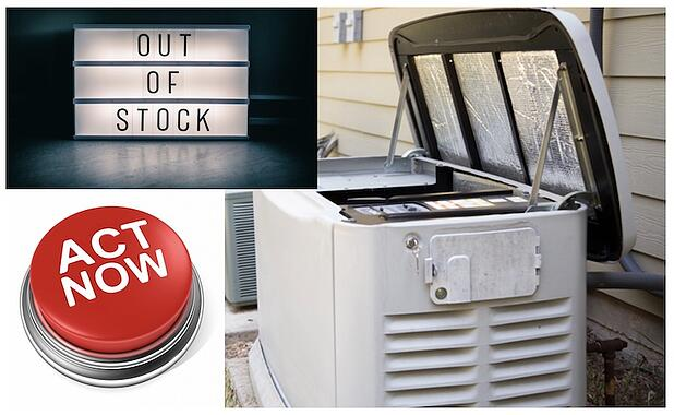 Home Generators on Back Order: Act Now to Install in August