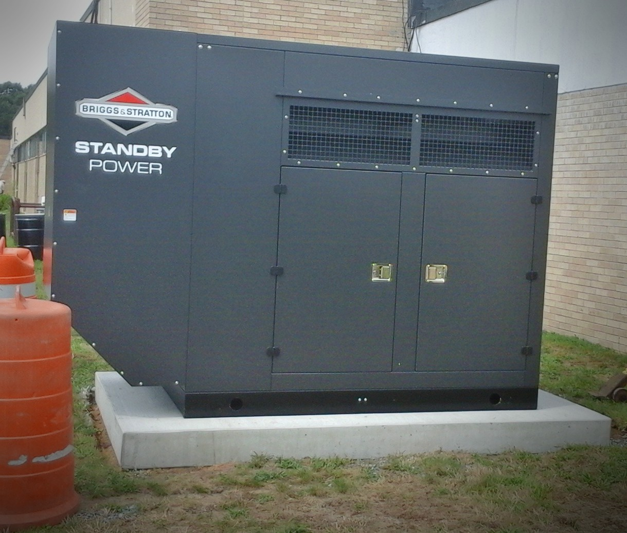 Briggs & Stratton Commercial Generator for Mashpee Schools