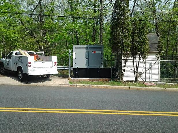 FM installs pump house generator in Branchburg, NJ