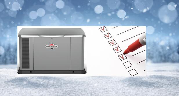 Preparing Your Generator for Winter: 2021 Checklist