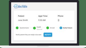 Virtual Waiting Room Dashbord